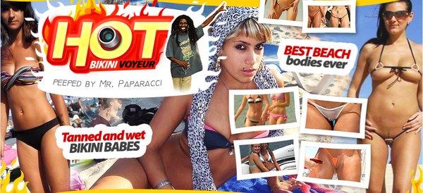 Hot bikini voyeur
