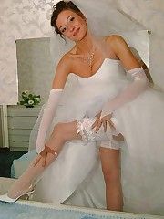 Photos of Hot Bride Dressed