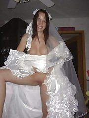 Bride upskirt candid photos