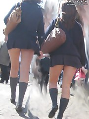 Panty up skirts asian schoolgirl. What can be hotter?
