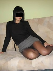 pantie hose up skirt pics