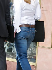 Sexy tight jeans pics of amateurs
