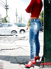Amateur hot asses on tight jeans pics