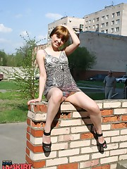 Real hot upskirt upskirt pantyhose