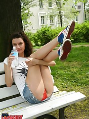 Teen outdoor upskirt upskirt photo