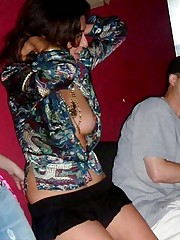 Get mind blowing downblouse and sideblouse pics upskirt shot