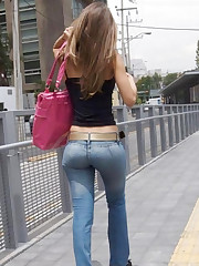 Jeans Girls pics gallery upskirt pic