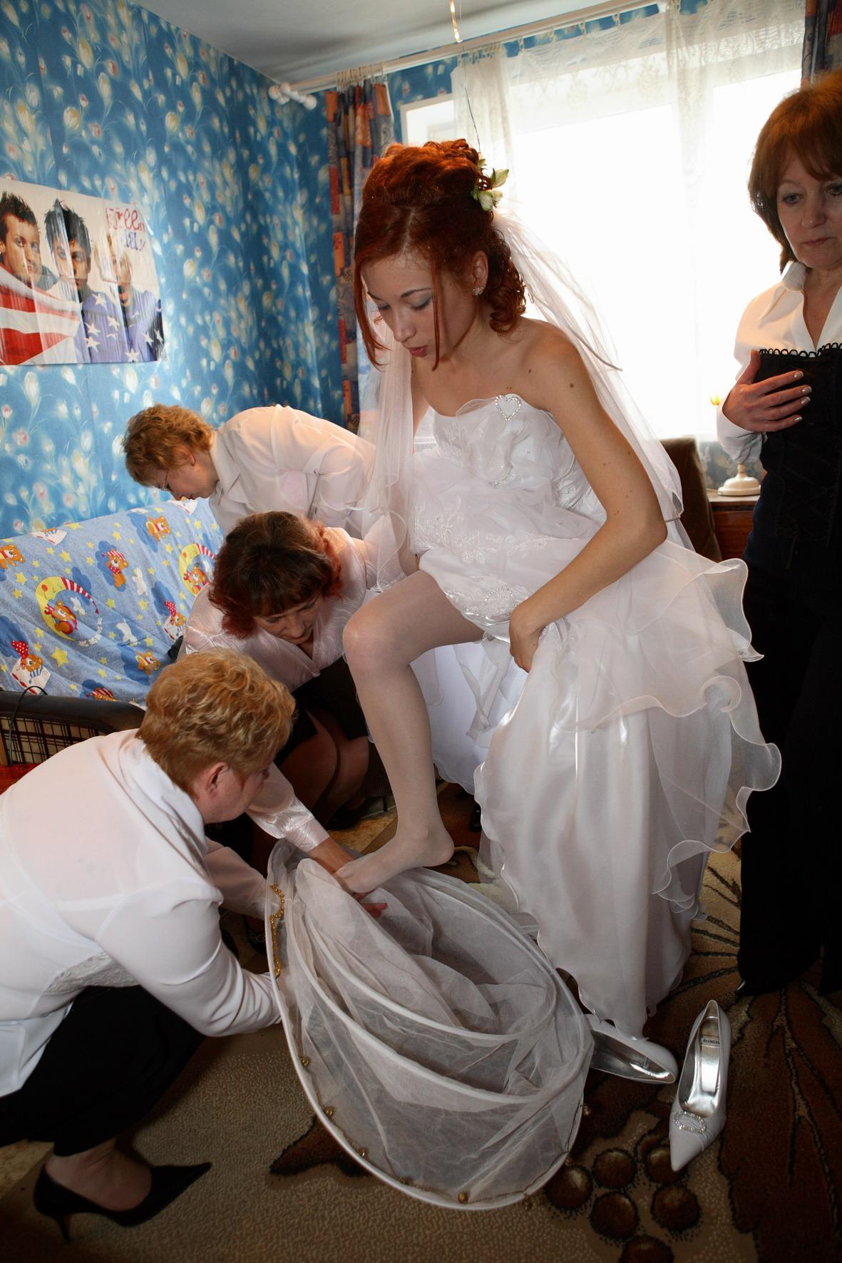 Частные фотоальбомы невест 9 фотография