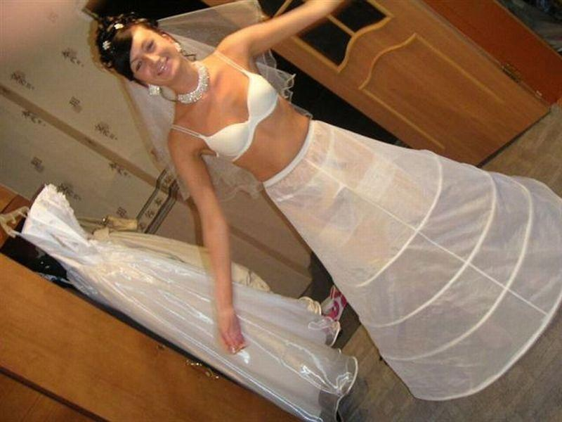 Opinion upskirt brides wedding night