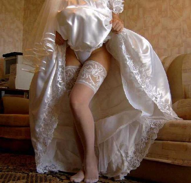 Share your upskirt brides wedding night consider