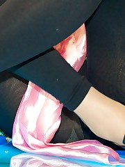 Accidental sitting upskirts public celebrity upskirt
