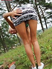I peeked up girls skirts sexy panty upskirt picture